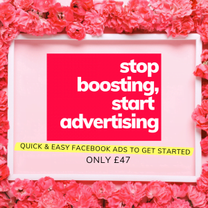 Stop Boosting, Start Advertising Course